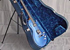 Custom Guitar Case with Built In Stand